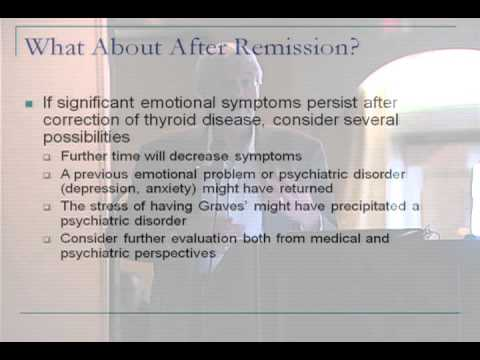 The Emotional Impact Of Graves' Disease – Dr. Ira Lesser