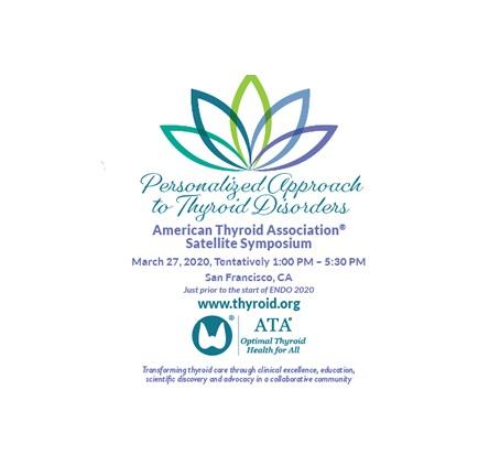 Simposio satélite de la American Thyroid Association®: Enfoque personalizado de los trastornos de la tiroides