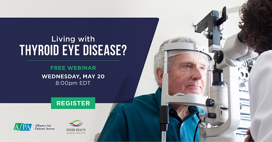 Living With Thyroid Eye Disease – Webinar